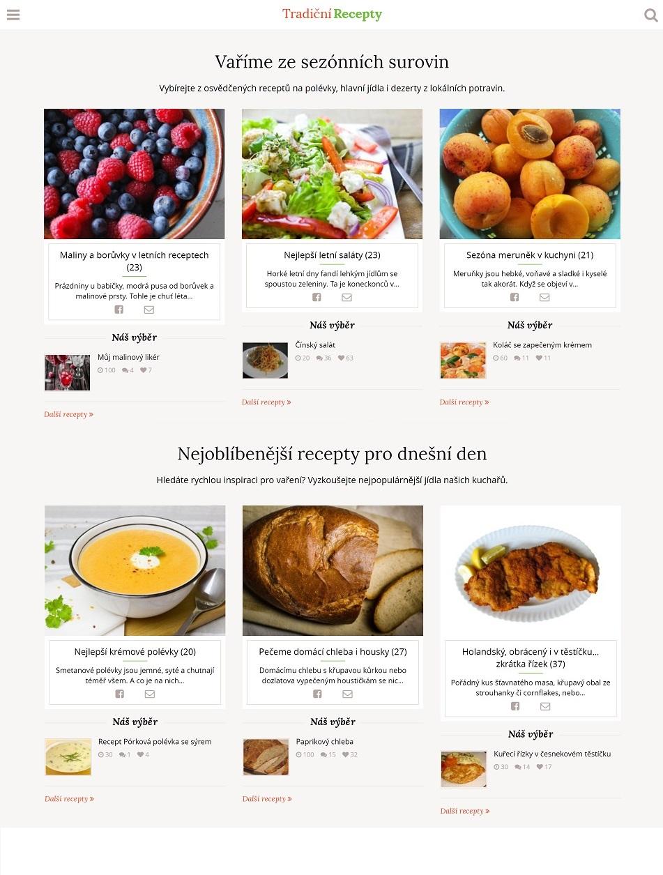 Tradiční recepty